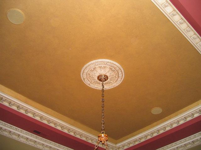 MINGARI Studios > Corinthian dining room: 04 Ceiling